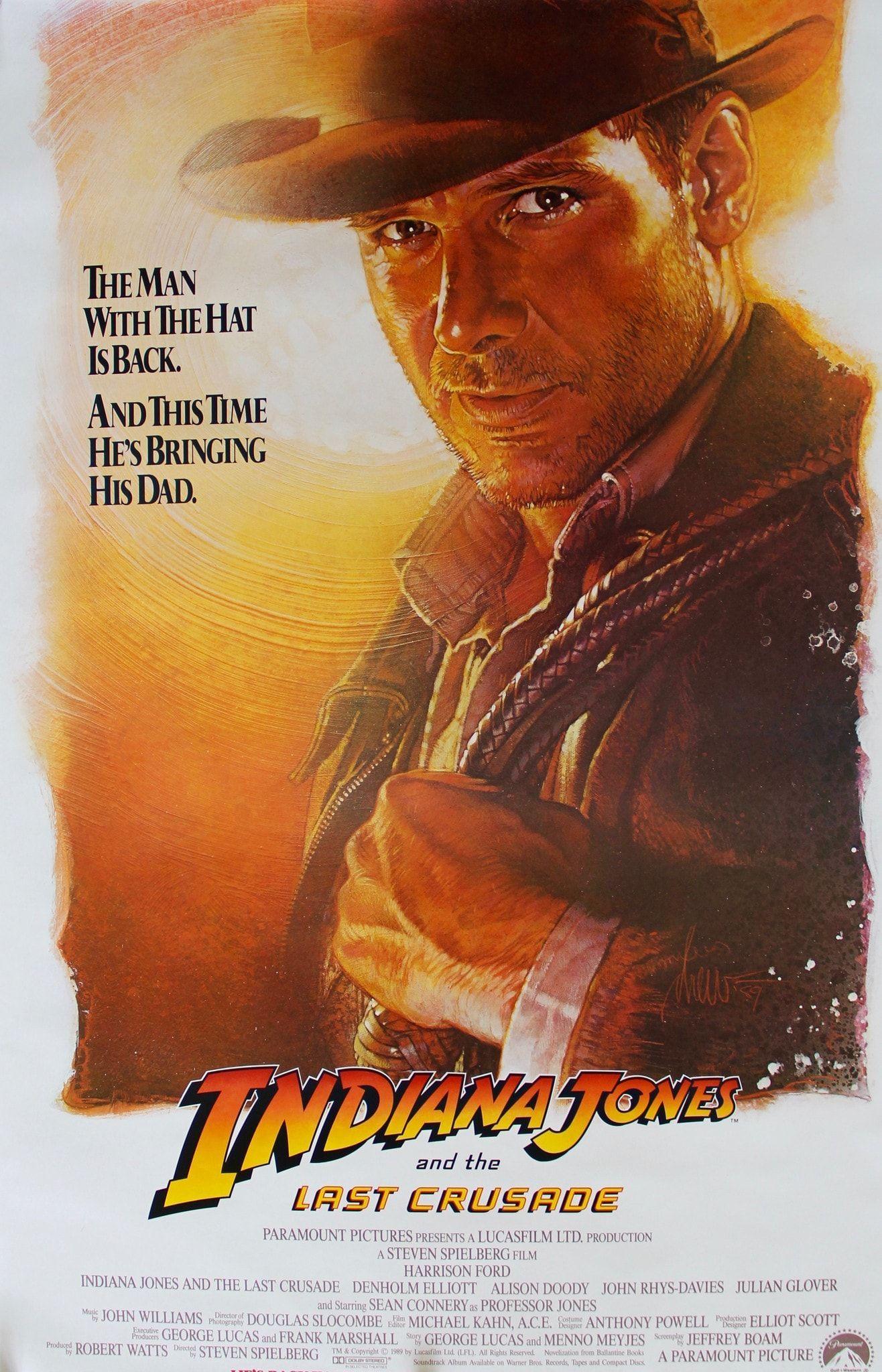 Indiana Jones And The Last Crusade 1989 In 2020 Indiana Jones