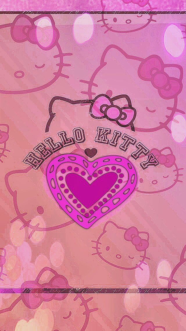 Hello kitty iphone wallpaper hello kitty wallpaper pinterest hello kitty iphone wallpaper voltagebd Images