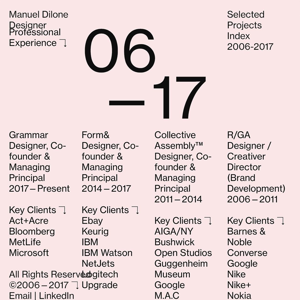 Fonts Used: Neue Haas Grotesk · Typewolf Typography