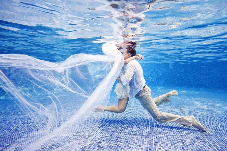 I C Ii Underwater Wedding Underwater Photoshoot Underwater Photography