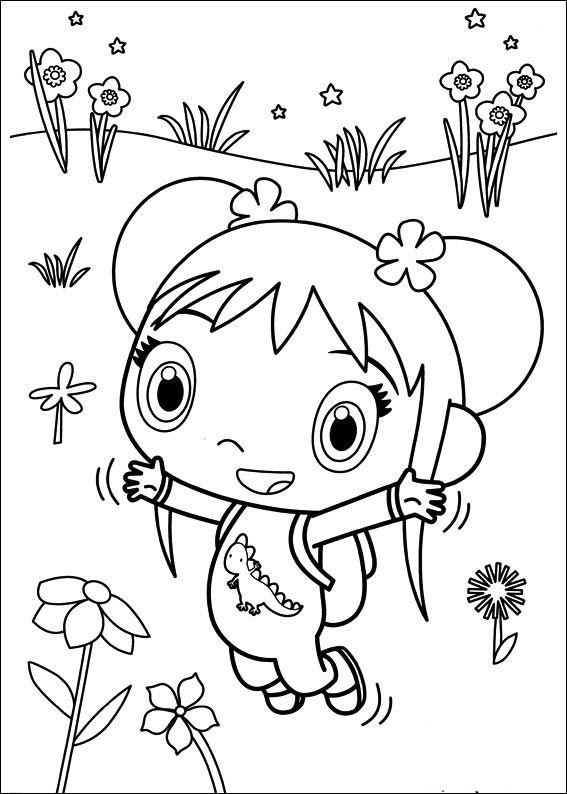 Ni Hao Kai-Lan Tegninger til Farvelægning 37   sing by Brandi ...