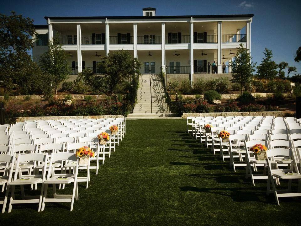 August Wedding Kendall Plantation Boerne Texas Venue