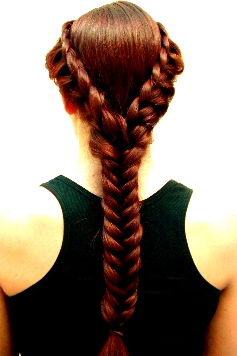 Rnrhairandbeauty braids pinterest french braid