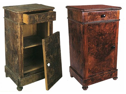 Clases de restauracin de muebles antiguos Restauracin