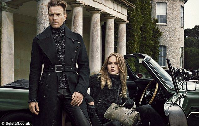 fecb9781fa93 The cool kids  Ewan wanted to help Belstaff reposition themselves in teh luxury  clothing market
