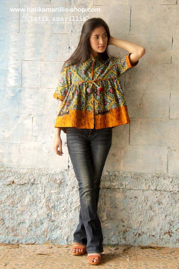 Batik Amarillis 39 S Romancia Jacket Available At Batik