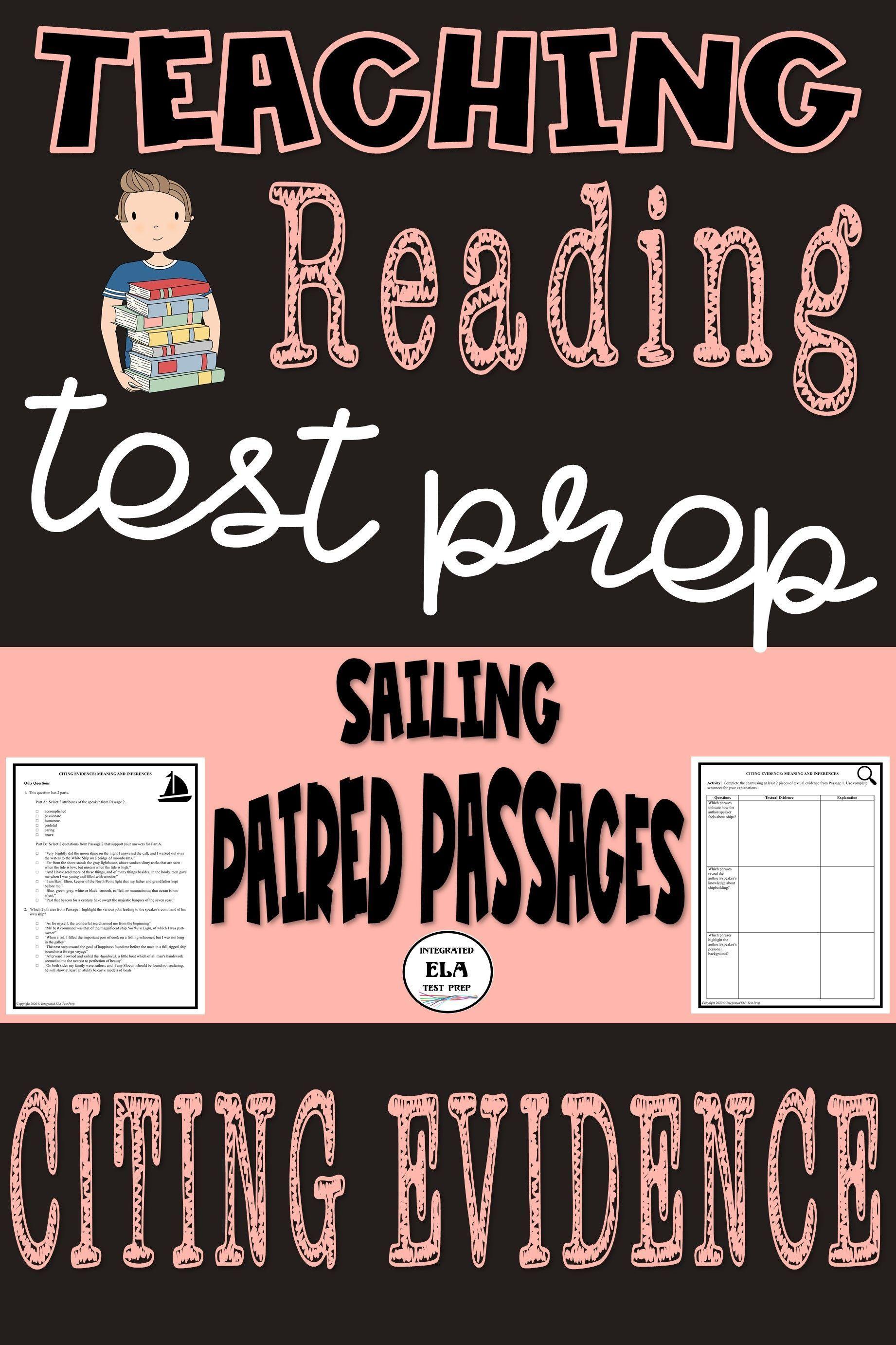 Pin On Ela Reading Test Prep