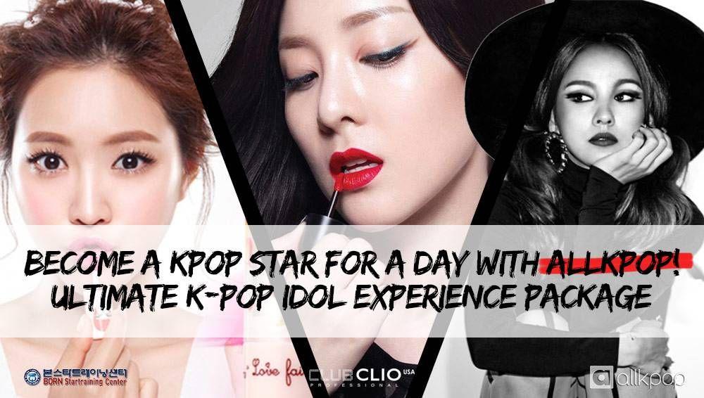 Ultimate K Pop Idol Experience Become A K Pop Star For A Day With Allkpop K Pop Star Kpop Idol Kpop