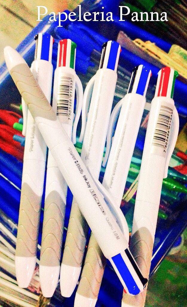 @papeleriapanna: Seguro ya conocen la línea @PaperMate ? Si les hace falta esta pluma de 4 colores, ven por ella. @En_laDelValle