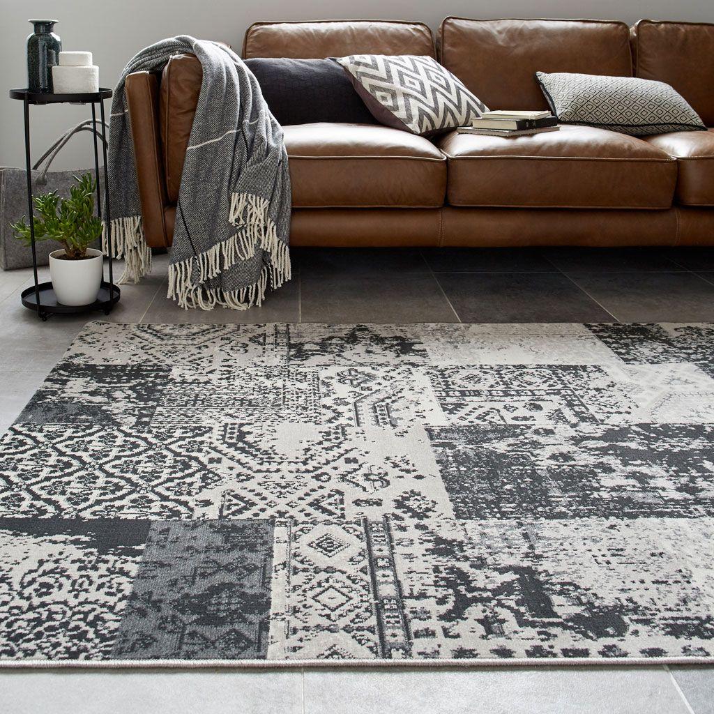 Un tapis en velours gris | Deco | Tapis gris, Tapis ...
