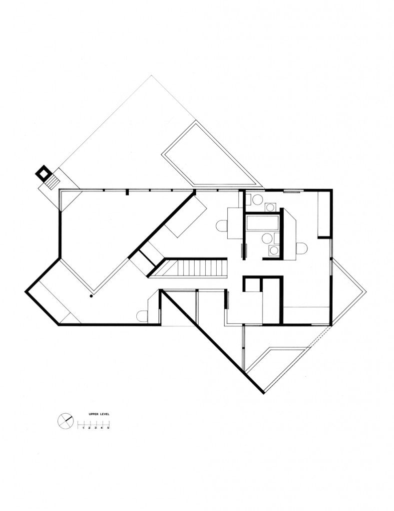 Hoffman House Richard Meier Architecture Plan Mansion Floor Plan
