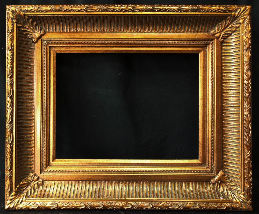 Antique Reproduction Ornate Gold Frame 12 X 16 4 Wide 2 1 2 Thick Frame Gold Frame Mirror Photo Frames