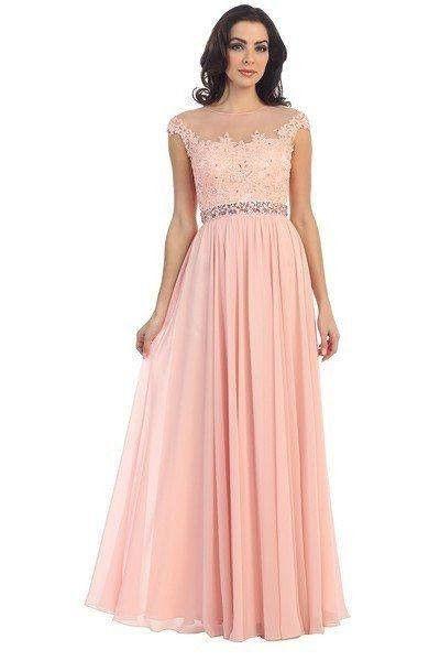 Elegant bridesmaids dress 107- 7050