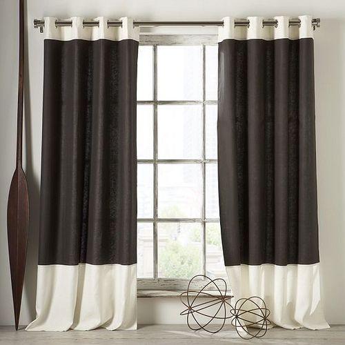 como hacer cortinas modernas - Google Search cortinas Pinterest