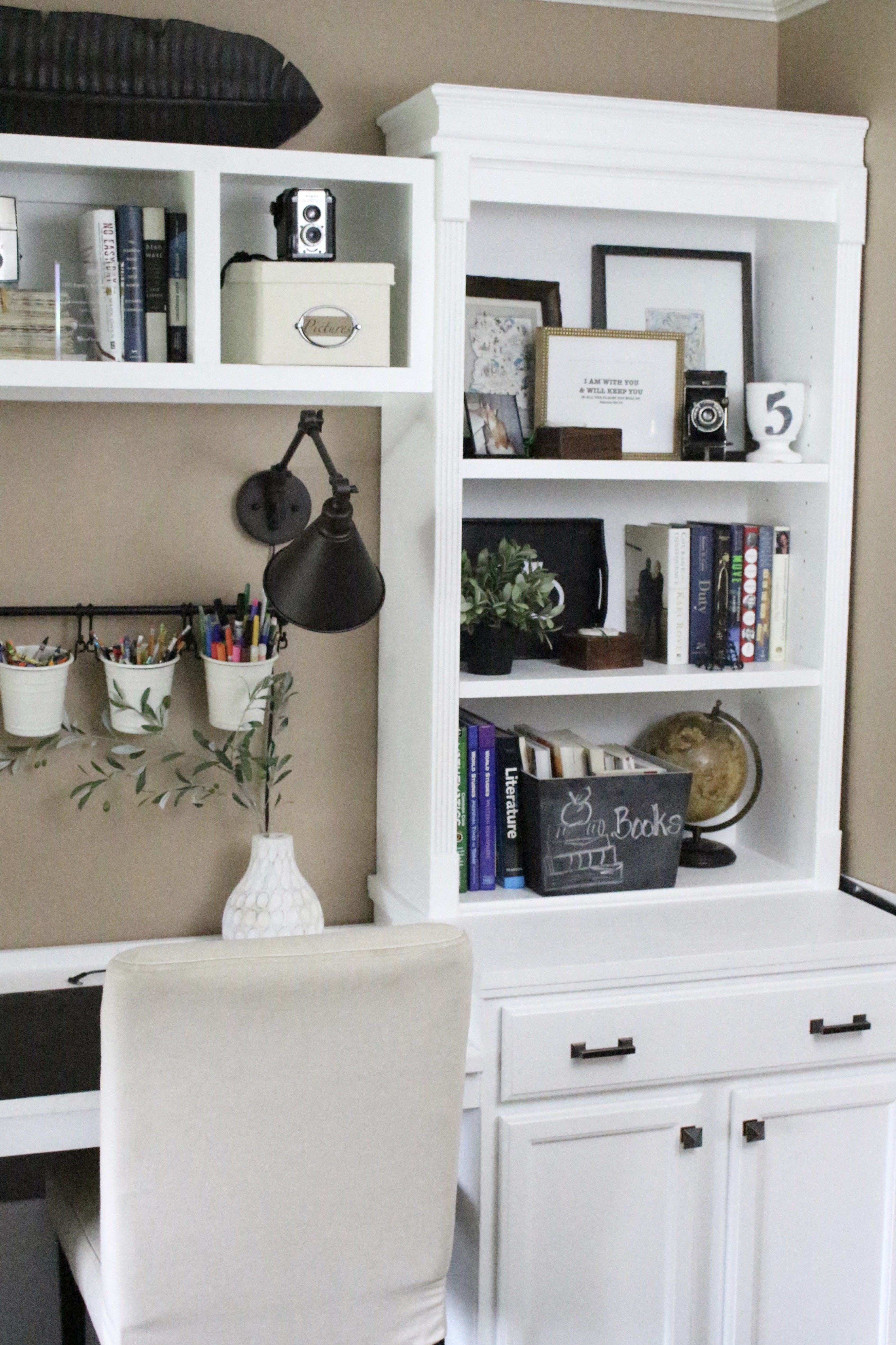 office craft room ideas. Home Office- Craft Room- Reveal- Office Space- Supply Storage Ideas Room