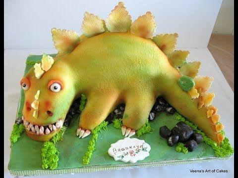 Dinosaur Cake  2 Slow version