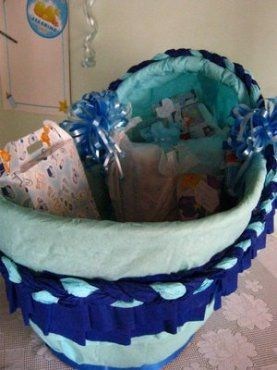 Caja Para Los Regalos De Tu Baby Shower