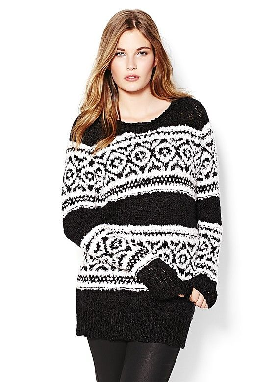 Fair Isle Sweater. | @Garage Clothing | I am cozy | Pinterest ...