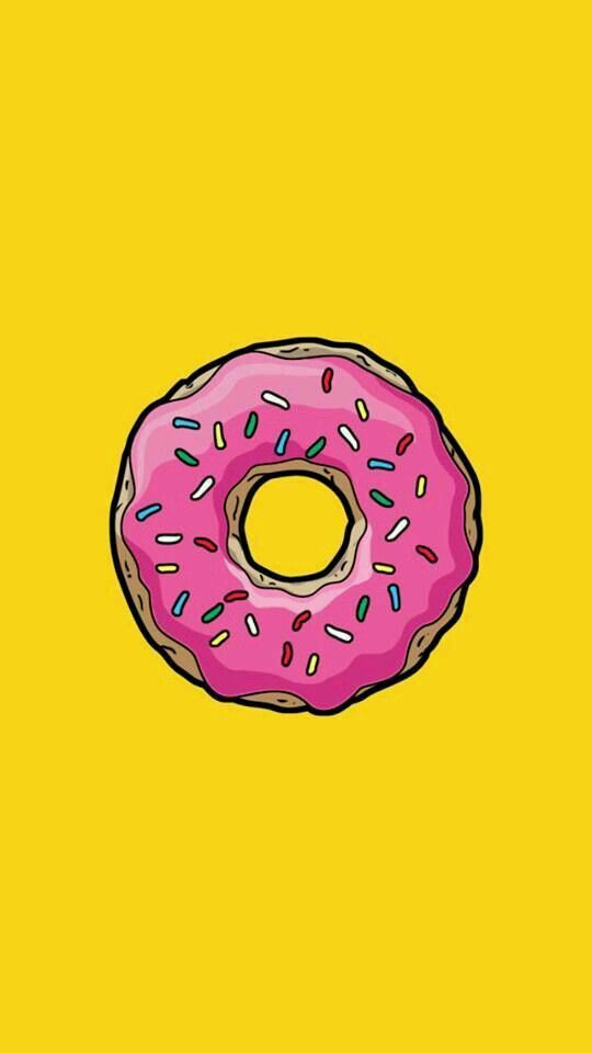 Pin De Azul Baravalle En Fondos De Pantalla Fondos De Donas Fondos De Pantalla De Iphone Fondos De Los Simpsons