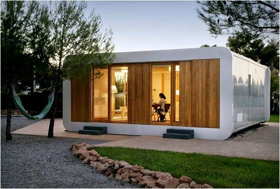 Prefabrik Eko Moduler Evler Noem Ecological House Prefabricated Houses Prefab Homes