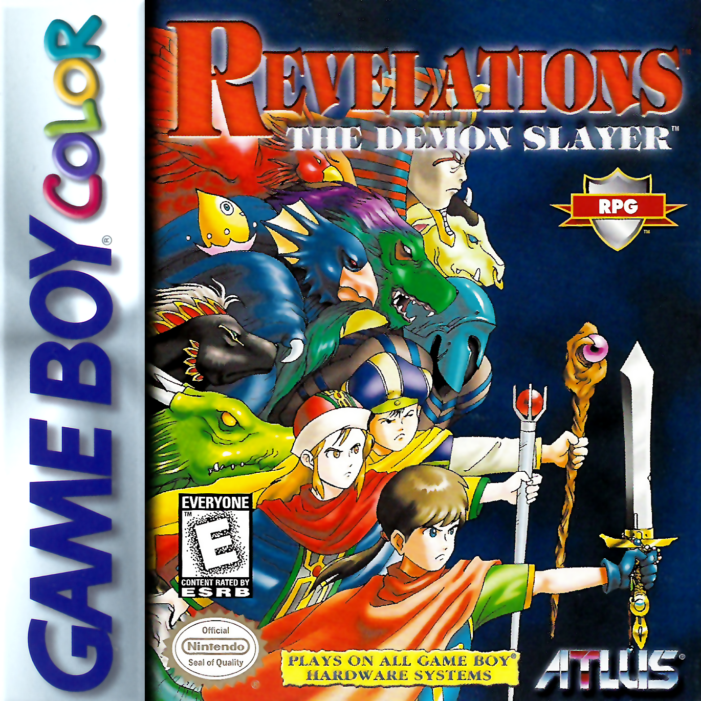 Game boy color online games - Play Revelations The Demon Slayer Nintendo Game Boy Color Online