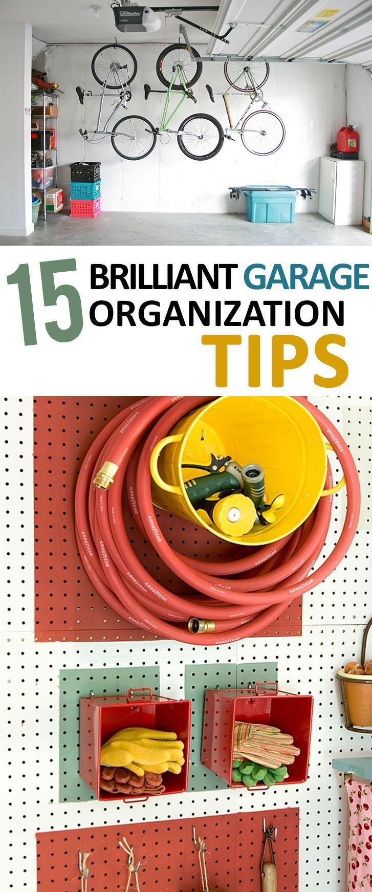 15 Genius Garage Organization Ideas | Garage Remodel, Garage Organization  And Outdoor Storage