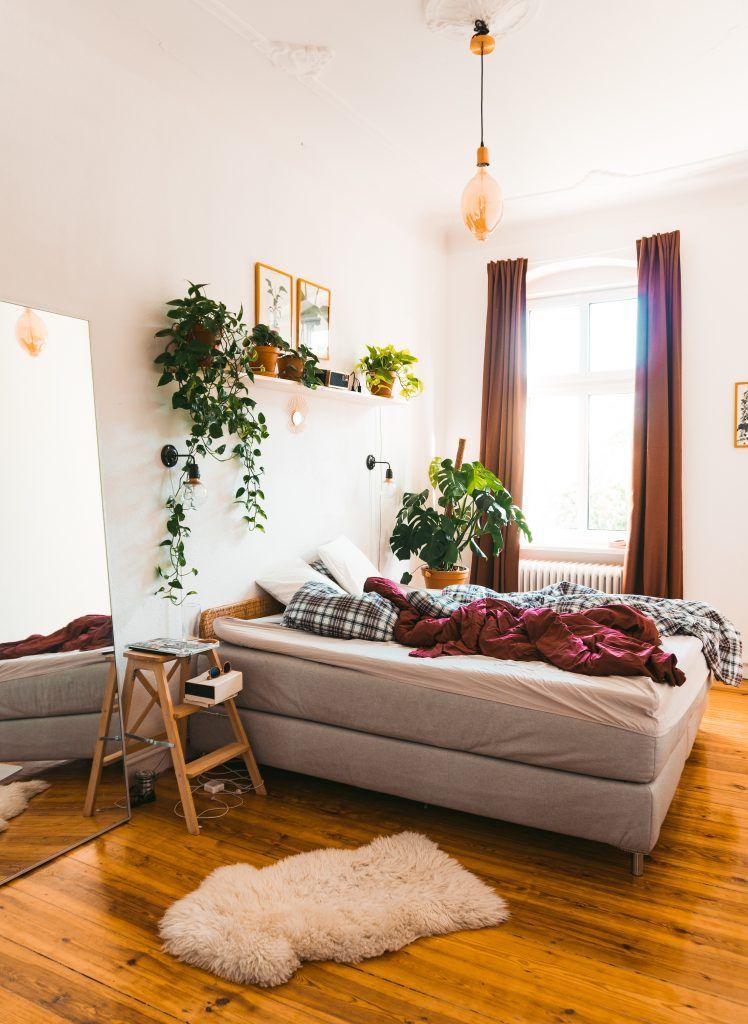Neue Farbe, neues Glück Einrichtungsideen schlafzimmer