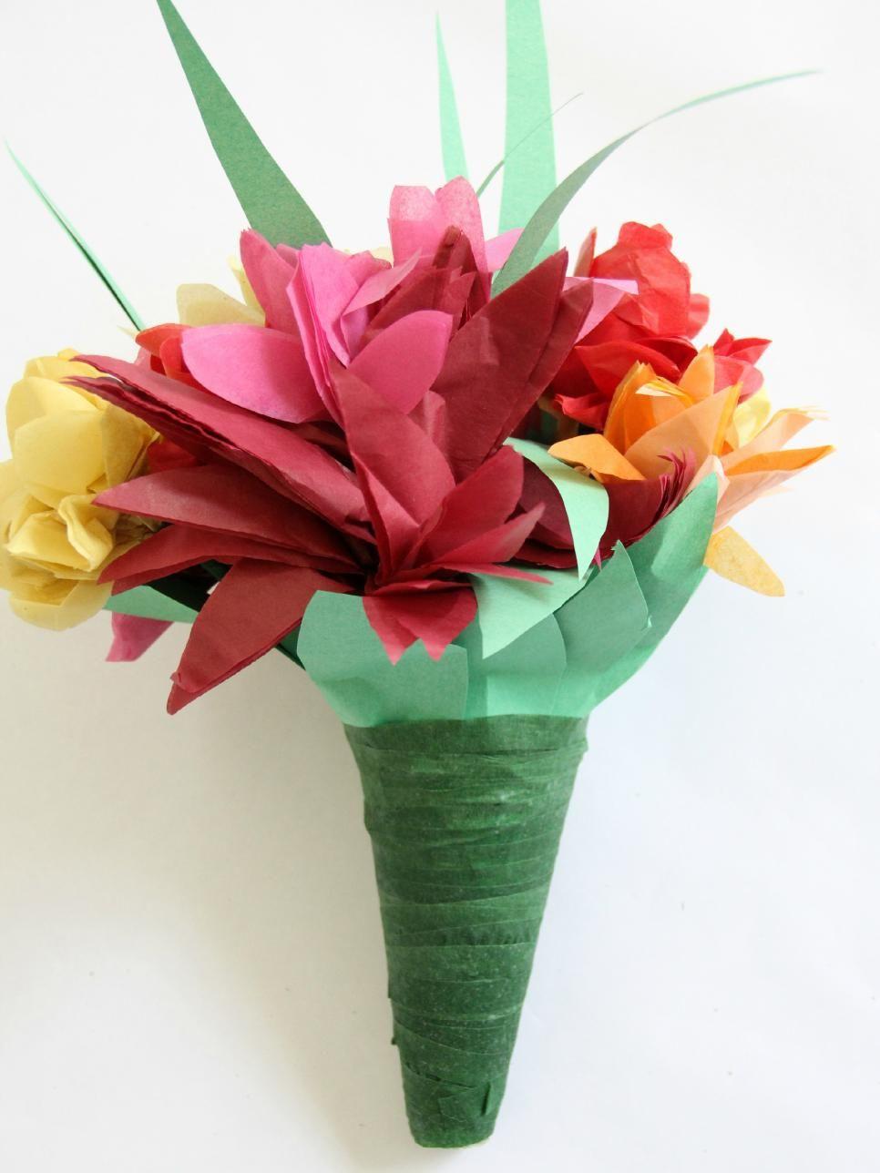 Paper Flowers For A Wedding Bouquet Dyi Pinterest Flowers