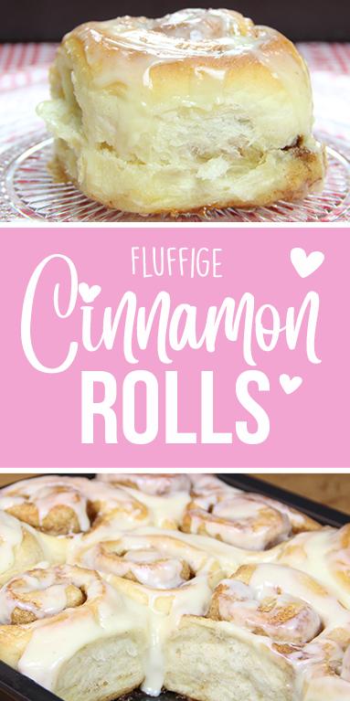 Cinnamon Rolls mit Frischkäse Topping
