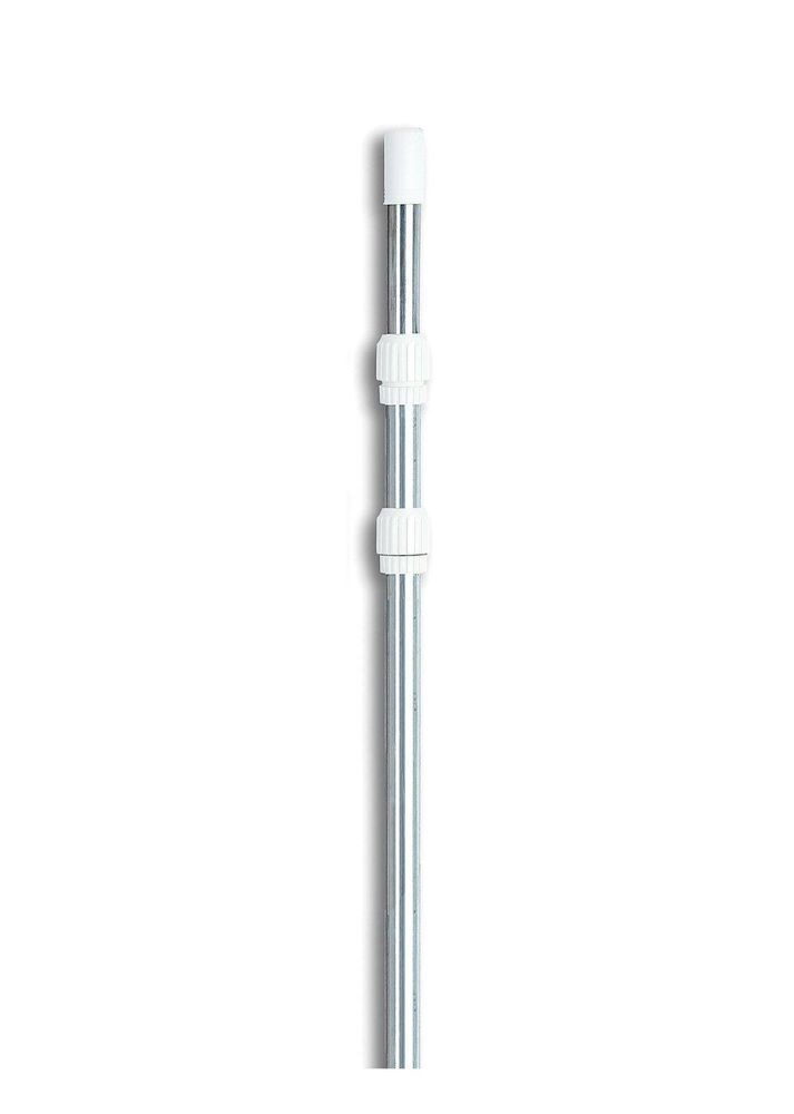 Swimming Pool Pole Adjustable 5 15 Aluminum Telescopic For Vacuum Skimmer Net Poolcentral Telescopic Pole Pool Poles Swimline