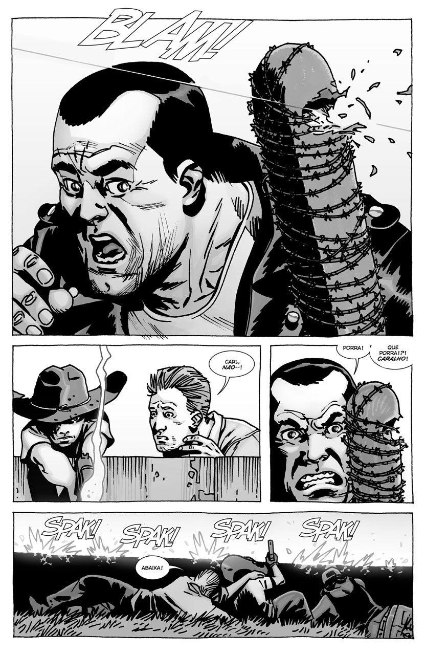 The Walking Dead 7ª Temporada | 10 cenas dos quadrinhos que queremos ver ainda em 2016 - The Walking Dead BRASIL