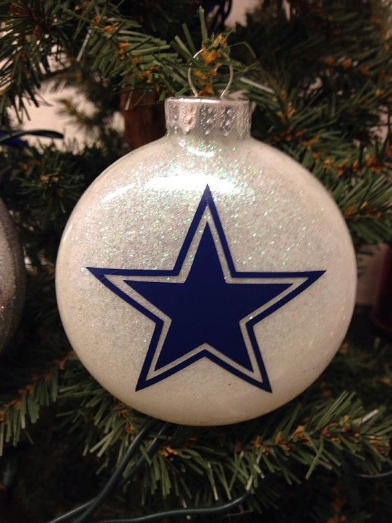 Holiday Christmas Tree Ornament NFL Football Dallas Cowboys - Holiday Christmas Tree Ornament NFL Football Dallas Cowboys Bri's