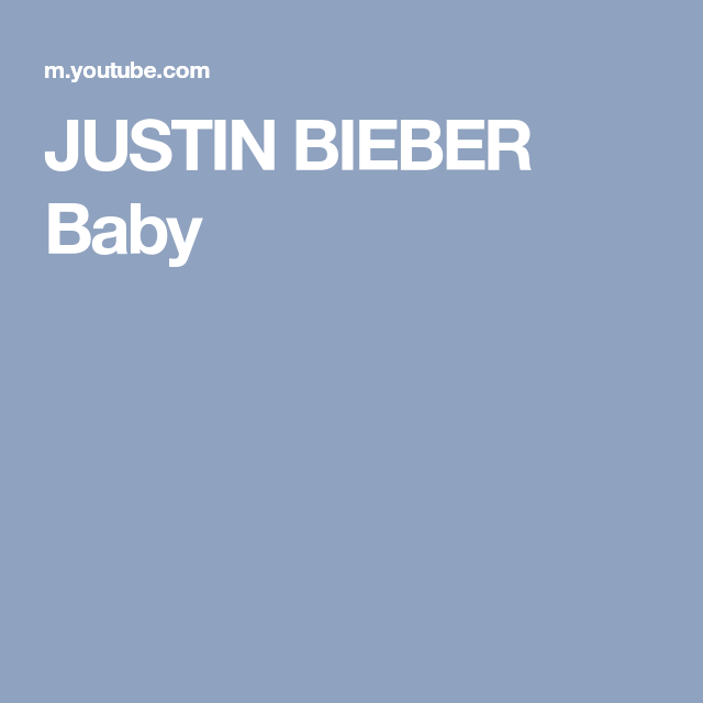 Justin Bieber Baby Justin Bieber Baby Ludacris Justin Bieber