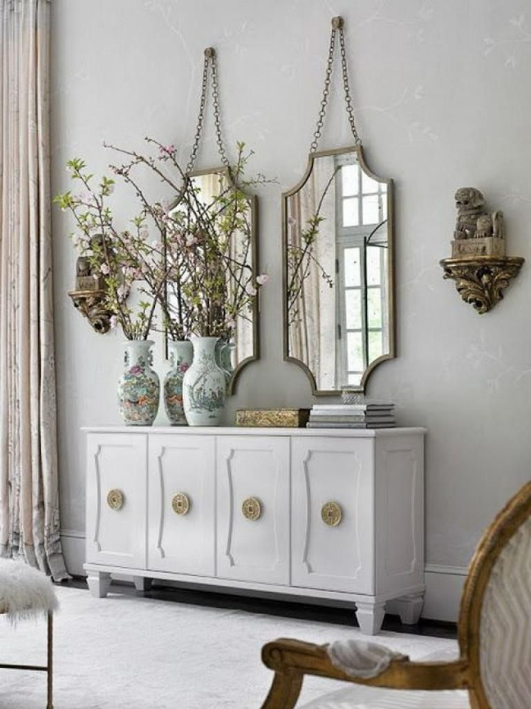 Admirable Interior Designs And Decorations With Mirrors Mebel Rumah Meja