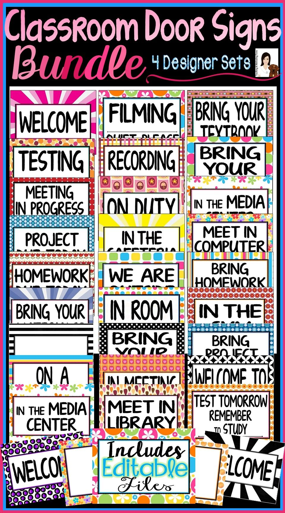 high school classroom door. 100+ Classroom Door Signs For Back To School Middle \u0026 High School. These Fun S