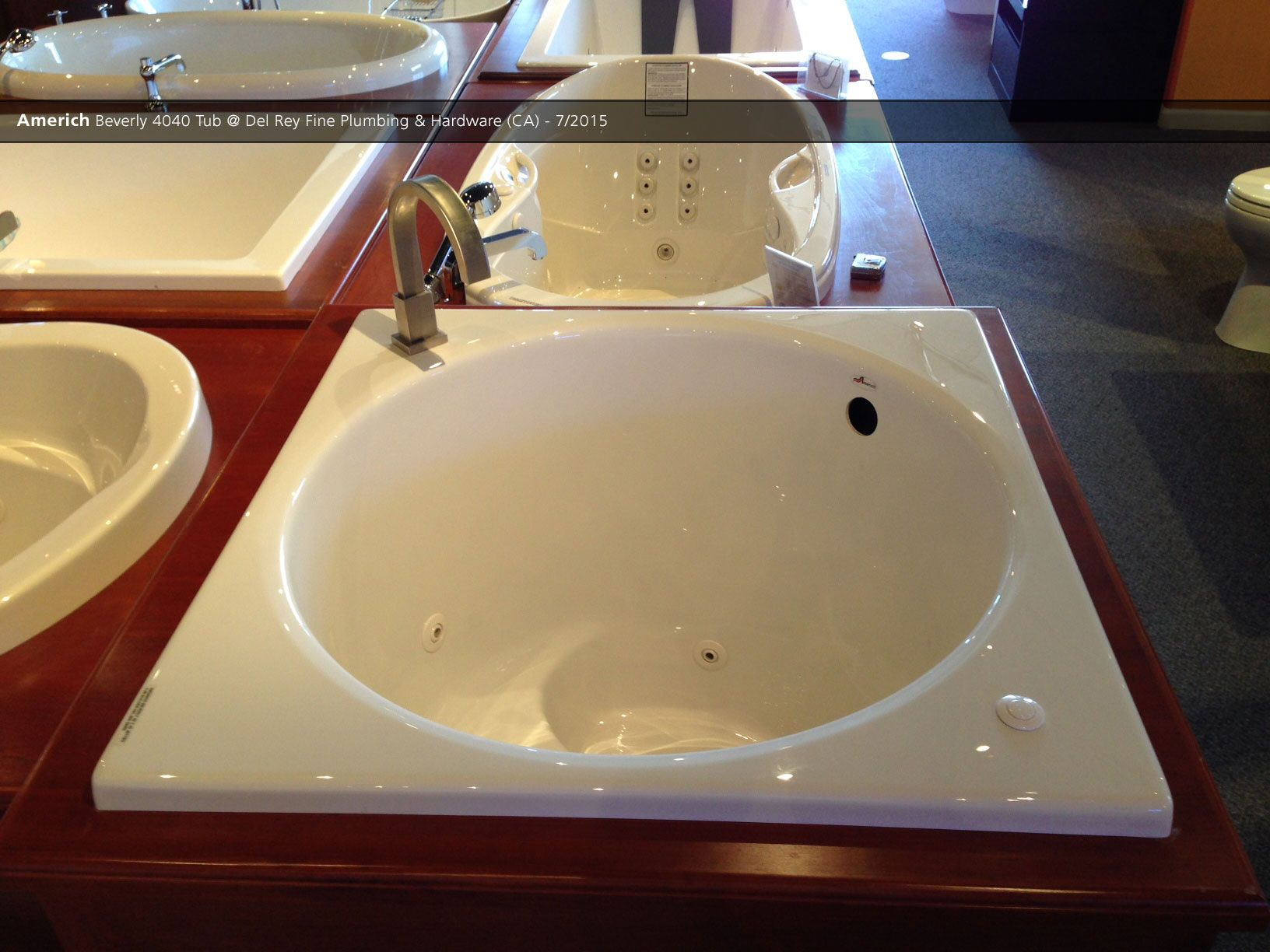 Americh Beverly 4040 Tub @ Del Rey Fine Plumbing & Hardware (CA) - 7 ...