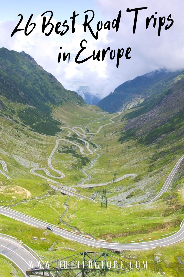26 best European road trips to take at least once!