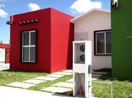 Resultado De Imagen Para Fachadas De Casas Pequenas De Infonavit Best Exterior House Paint Exterior House Paint Schemes Exterior House Siding