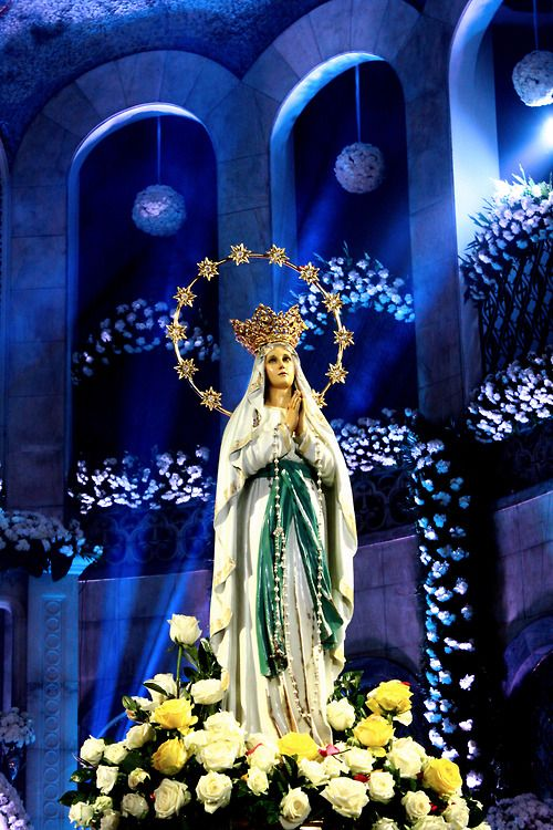 Hail Holy Queen, Our Mother of Mercy, Hail our life our sweetness and our hope.