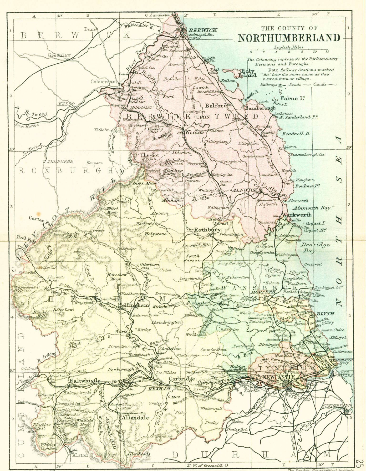 Map Of Uk North East.Pin By Simpson Kirkpatrick Historian On North East England Maps