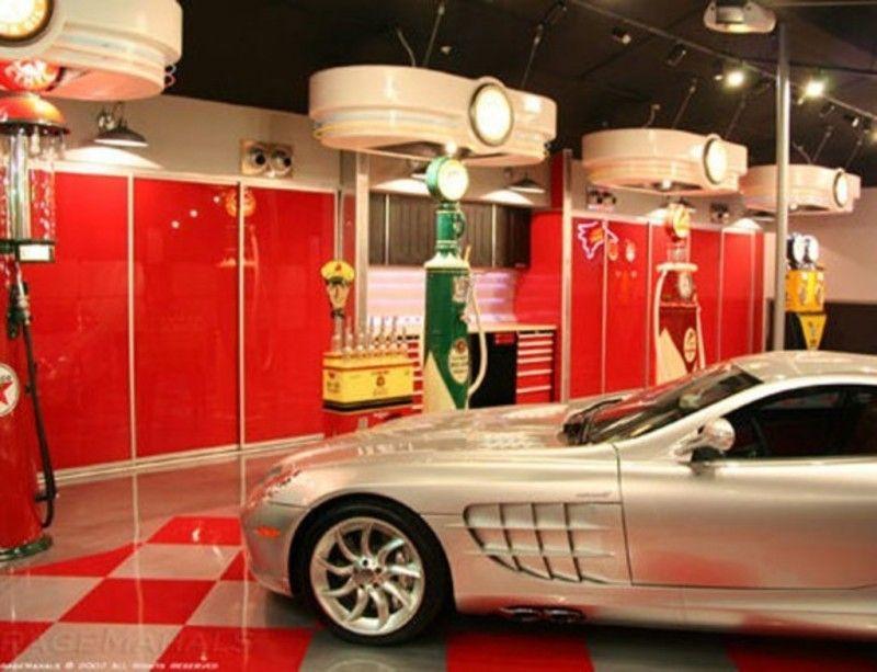 Modern Luxury Garage Design Gallery Custom Interior