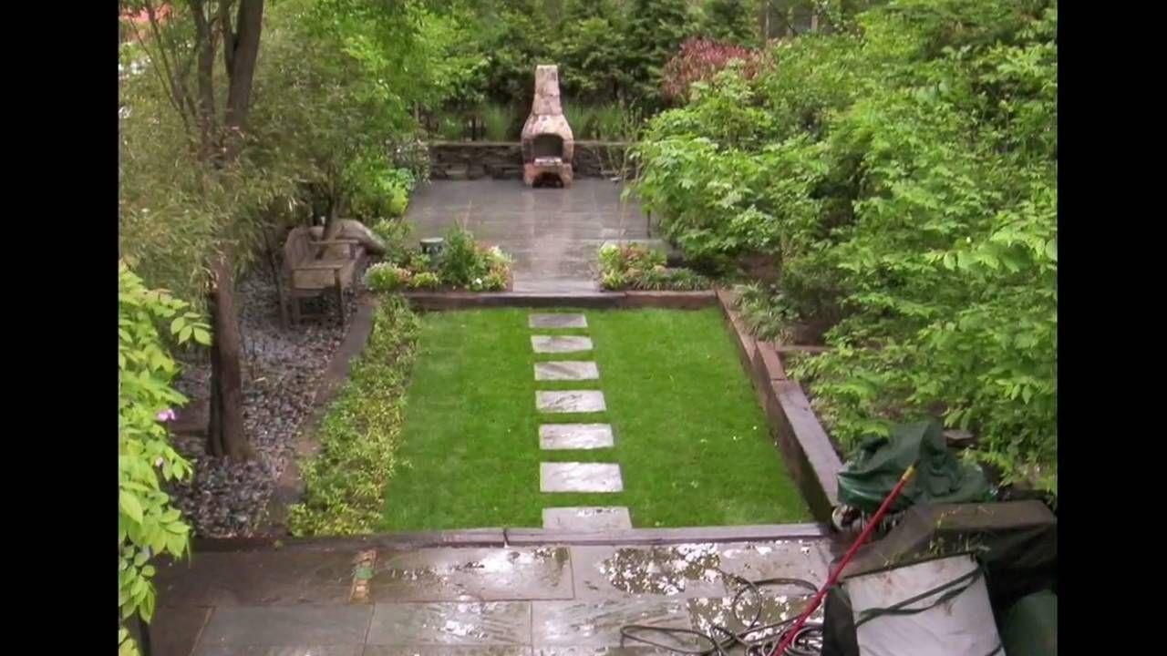 different zones   Townhouse garden, Small backyard ...