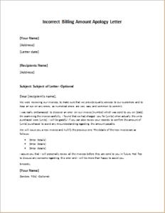 Incorrect billing amount apology letter download at http incorrect billing amount apology letter download at httpwriteletter2 incorrect billing amount apology letter spiritdancerdesigns Choice Image