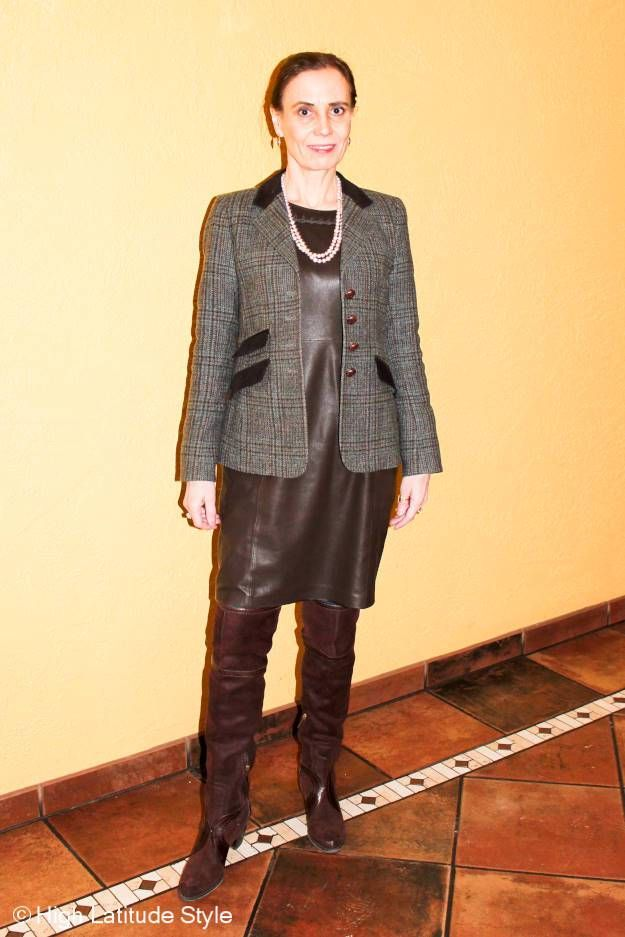 #fashionover50 St. Patrick's Day outfit suggestions @ High Latitude Style