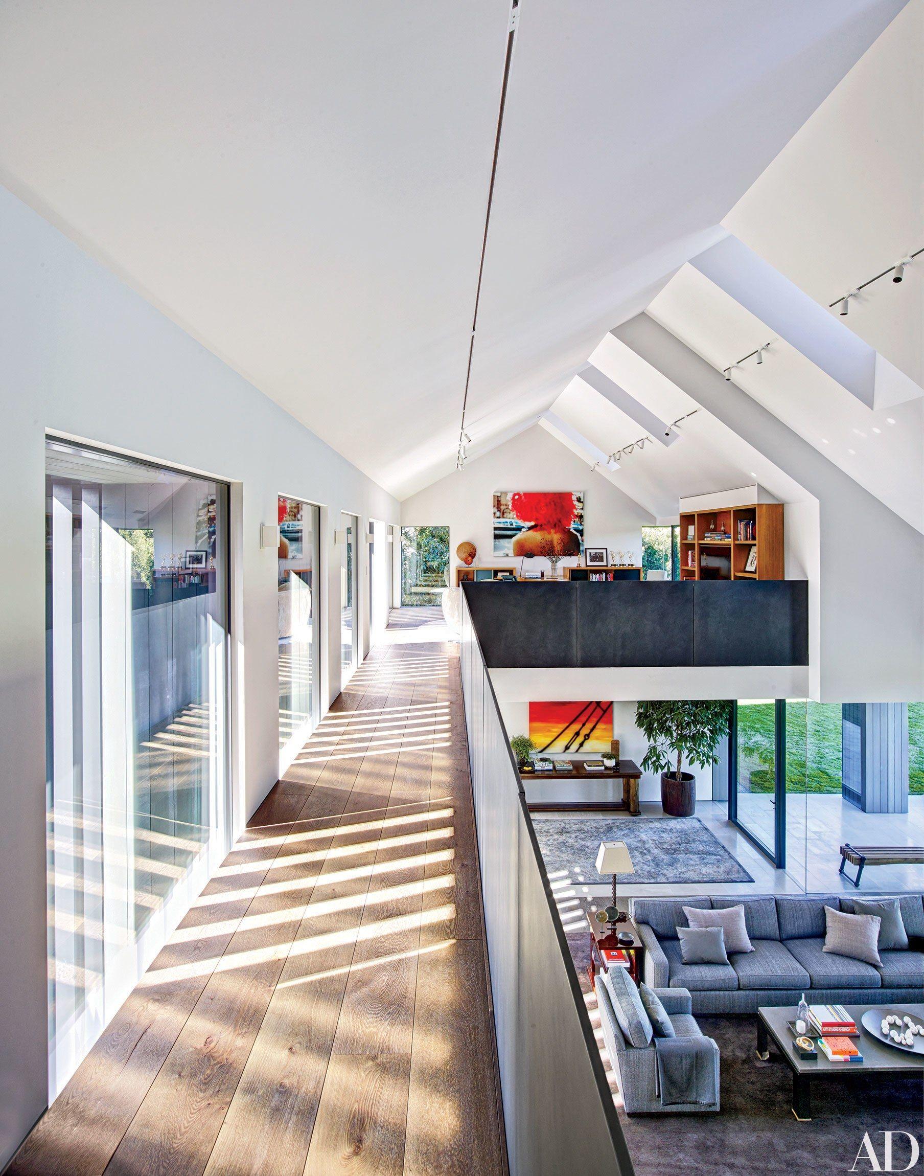 7 Ways To Create An Artful Mezzanine Floor Architecture Design House Design Architectural Digest