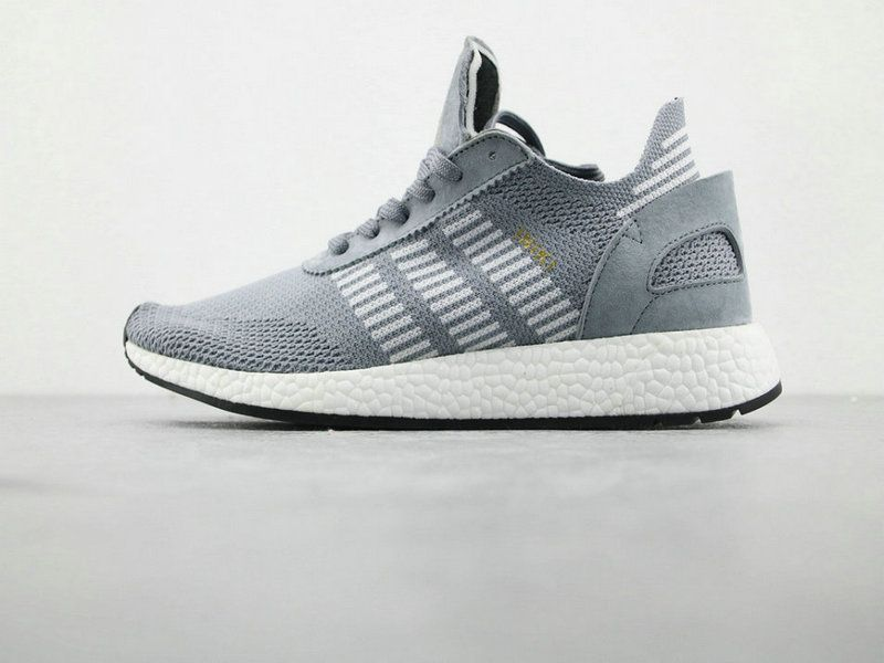9f13487beacd adidas INIKI Runner Boost PK Grey White Running Boost adidas For Sale