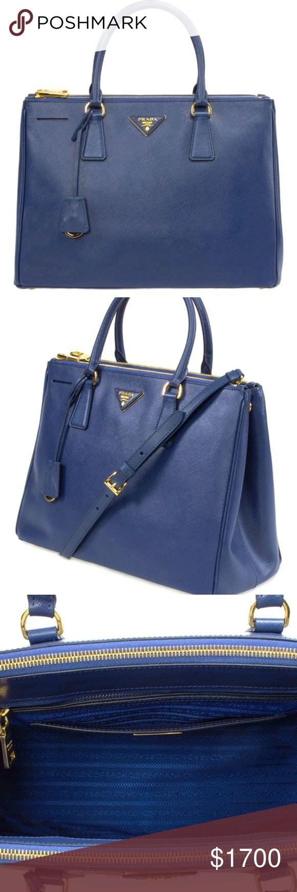 460fd1b4a9e8 Prada Galleria Medium Saffiano Bag - Blue Brand new authentic Prada Medium Saffiano  bag Navy color. Prada Bags Totes #fashionhandbags