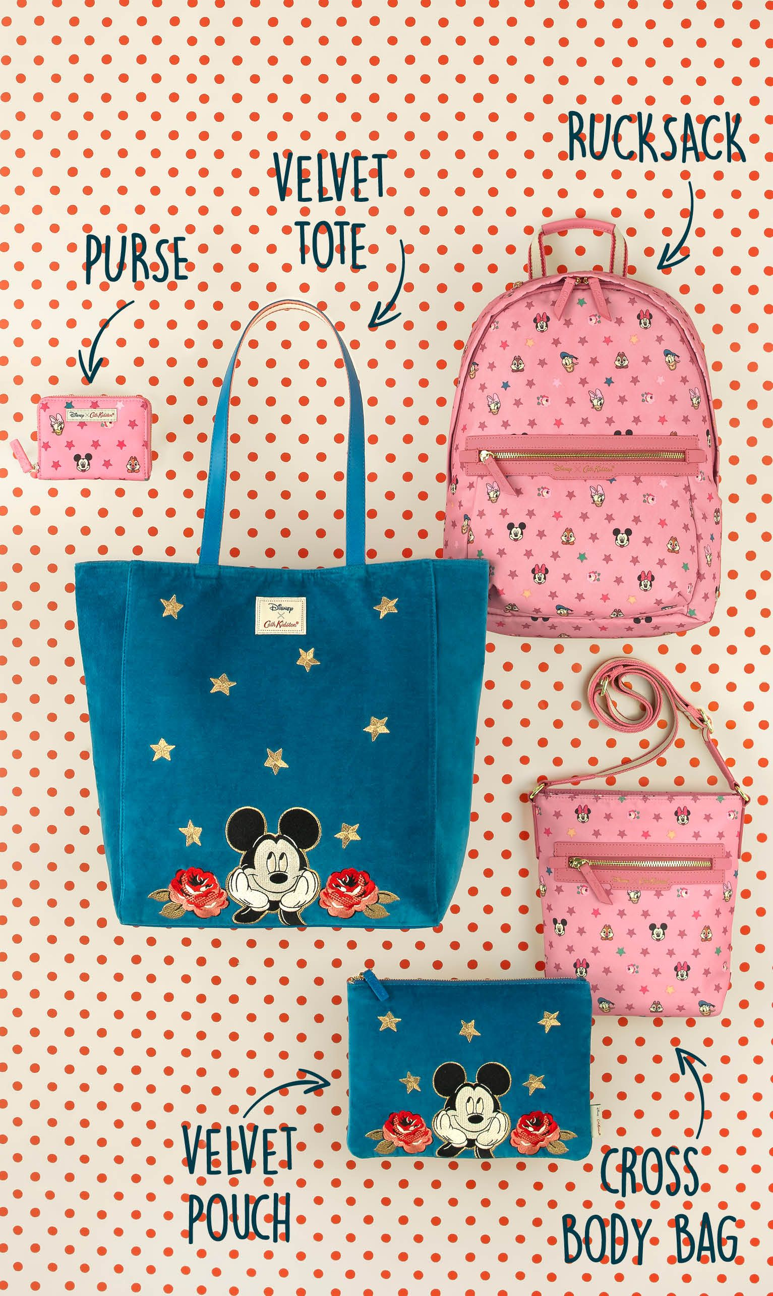 3a24c815cc4 Our next Disney X Cath Kidston collection is the magical Mickey Mouse. We  are celebrating
