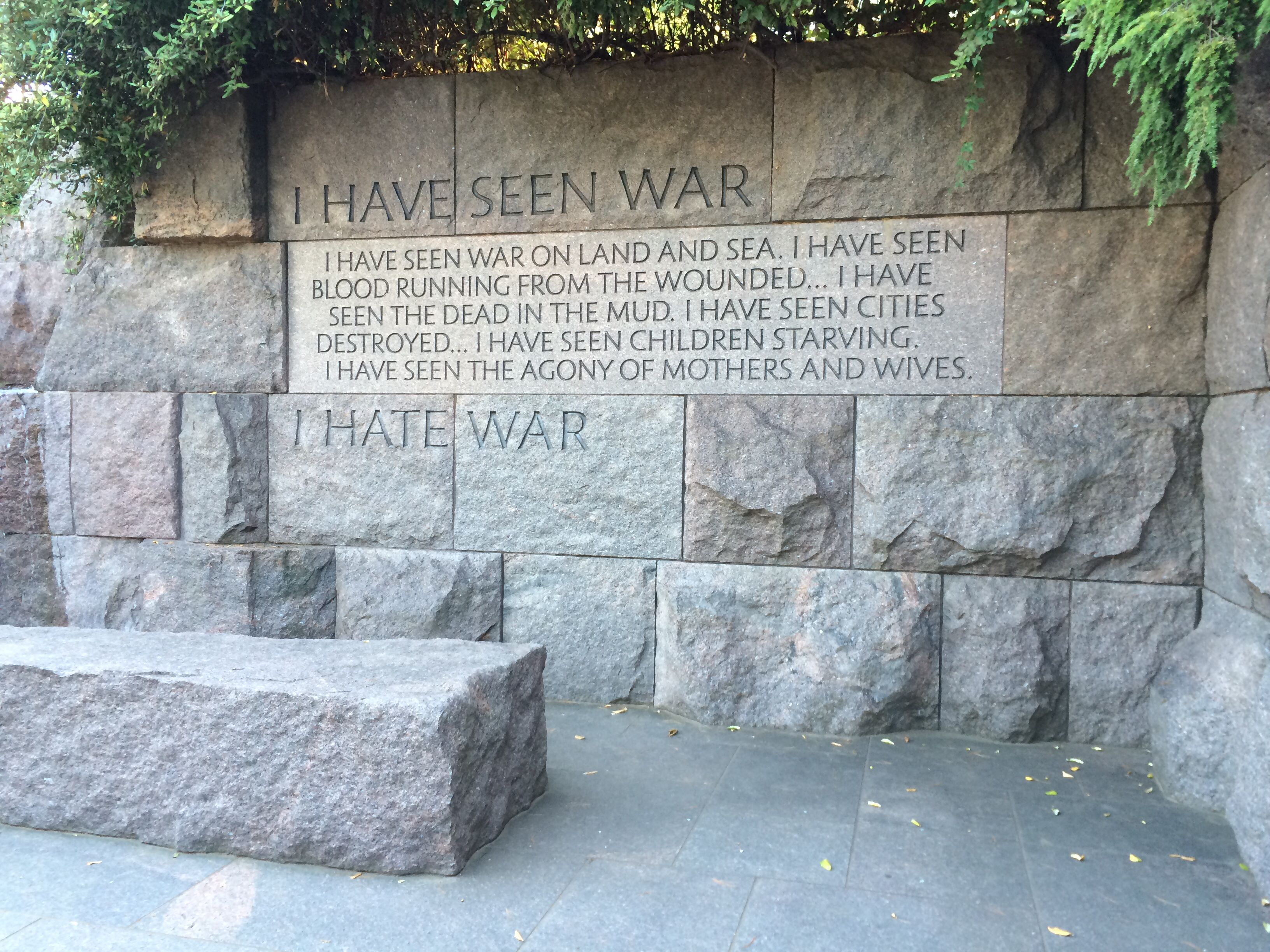 fdrs war message Fdr speaks to a nation in crisis, march 4, 1933  it doesn't have to be war, though it could be, for example, an economic depression.
