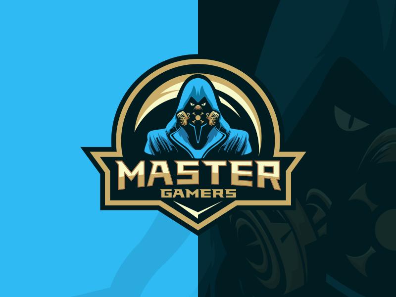 Master Gamers Gamer Game Logo Master